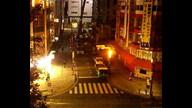"""ラジオ会館に人工衛星が""""落下"""" 2011年10月28日未明"""