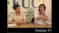 Debate presidencial FEUC 2012 segunda vuelta