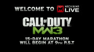 The Machinima MW3 15 Day 24/7 Live Stream @ Machin 11/07/11 11:02PM