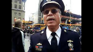 Retired Police Captain Raymond Lewis joins Occupy Wall Street
