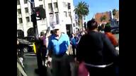#NDAA awareness on Hollywood Boulevard 12/10/11