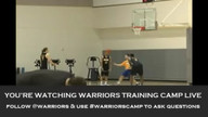Training Camp Live: Lou Amundson &amp; Klay Thompson - 12/13/11