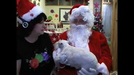 Santa visits Schnauzers12/13