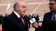 Olympic Flame Lighting  Ceremony / Interview with Mr. Nikolaou