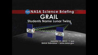 NASA & Students Announce Names for GRAIL