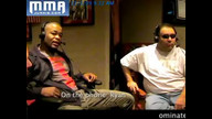Rashad Evans in studio does Mike Tyson impression