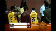 BCU Mens Basketball vs HBU