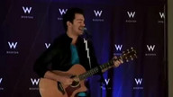 Andy Grammer Performs &quot;Keep Your Head Up&quot; at W Boston 