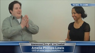 Amelia Phillips-Lewis CEO of www.amillionmatches.ca with Joe Crawford on Entertainment Extra