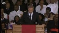 Kevin Costner pays his respects for Whitney Houston