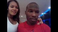 Ocho Cinco and Evelyn Lozada chat with fans