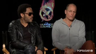 Woody Harrelson and Lenny Kravitz Hunger Games Interview