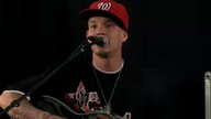 Chris Rene in the Kiss 108 iHeartRadio Studio