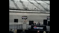 Bristol Motor Speedway press conference