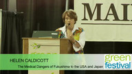 Helen Caldicott at Green Festivals