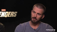 Chris Hemsworth and Chris Evans Talk Superheroes
