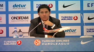 Press Conference Barcelona vs Olympiacos Final Four 2012 - Istanbul