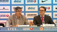 Final Press Conference CSKA vs Olympiacos Final Four 2012 - Istanbul