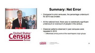 Census Coverage Measurement News Conference