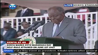 MADARAKA DAY: Kibaki Speech