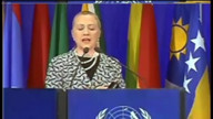 Hillary Clinton speaks at US Rio+20 Summit