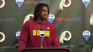 Redskins live training camp presser with RG3