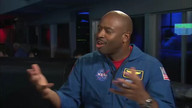 Leland D. Melvin, Former NASA Astronaut and NASA Associate Administrator for Education, discussing the STEM at NASA - Mars, It's All About Learning