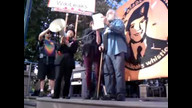 #FreeBradleyManning rally at OGP