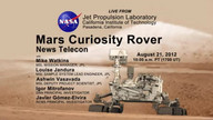 NASA Hosts Curiosity Teleconference Aug. 21