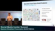 Sponsor Breakfast Presentation - BuddyMedia