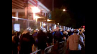 Delegates Walk Out of RNC 2012 (Part 01)