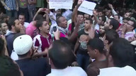 Protests outside US embassy in Cairo