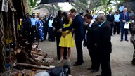 Kate in Solomons as topless row rages