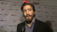 Gyllenhaal brings Brit accent to NYC stage