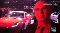 Jaguar debuts new F-Type at Paris Auto Show
