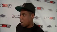 Jay-Z at launch of &#039;NBA 2K13&#039;