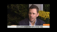 Peter Thiel Says Wall Street `Gets Blamed Too Much'