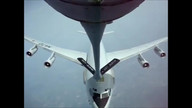 E-8 AWACS mid-air refueling