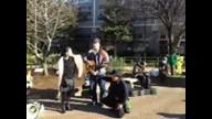【あなたたちはもう終わった!野田さん&原発デモ1】2012/11/18