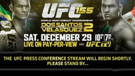UFC 155 Press Conference