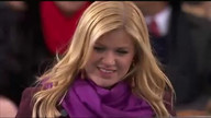 Kelly Clarkson performs at Inauguration