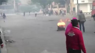 Raw: Deadly protests rock Cairo