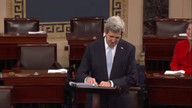 Kerry bids emotional farewell to Senate