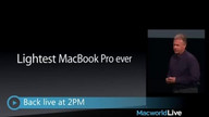 Macworld Live - Photography &amp; Video on the Mac (Starts @ 1:15)