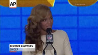 Beyonce admits she lip synced at Inauguration