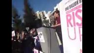 #1billionrising  on 2/14/13 at 10:09 AM PST