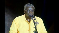 Prime Minister Freundel Stuart at the DLP's Final Rally