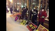 20130222「北海道庁前 反原発抗議行動」