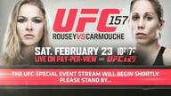 Ronda Rousey, Liz Carmouche make weight for UFC 157
