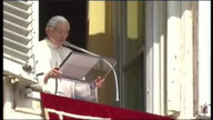 Pope gives final Sunday blessing